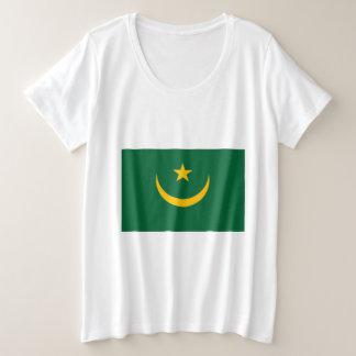 Mauritania Flag Plus Size T-Shirt