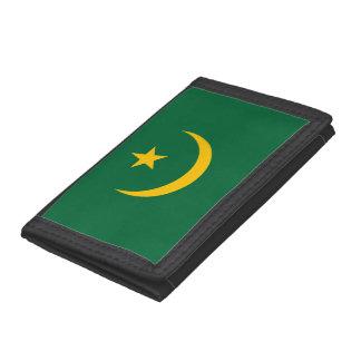 Mauritania Flag Trifold Wallet