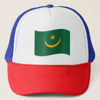 Mauritania Flag Trucker Hat