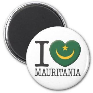 Mauritania Fridge Magnet