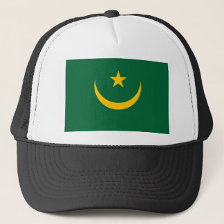 Mauritania National World Flag Trucker Hat