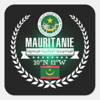 Mauritania Square Sticker