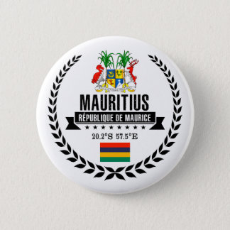 Mauritius 2 Inch Round Button