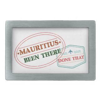 Mauritius Been There Done That Rectangular Belt Buckle
