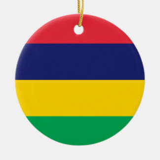 Mauritius Ceramic Ornament