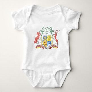 Mauritius Coat Of Arms Baby Bodysuit