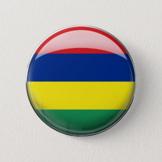 Mauritius Flag 2 Inch Round Button