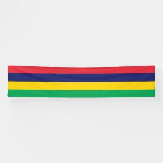 Mauritius Flag Banner