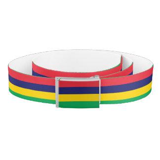Mauritius Flag Belt