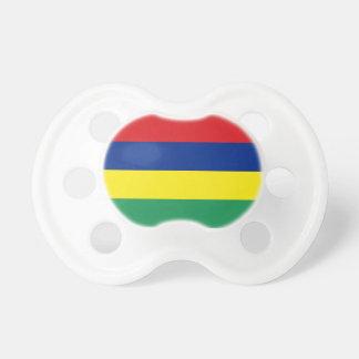 Mauritius Flag Booginhead Pacifier