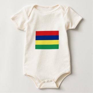 Mauritius FLAG International Baby Bodysuit
