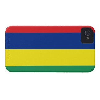 Mauritius Flag iPhone 4 Covers