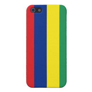 Mauritius Flag iPhone 5/5S Case