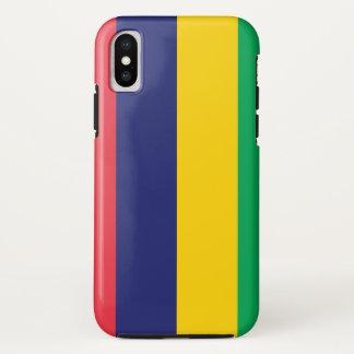 Mauritius Flag iPhone X Case