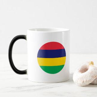 Mauritius Flag Magic Mug