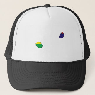 Mauritius Flag Map full size Trucker Hat