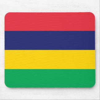 Mauritius Flag Mouse Pad