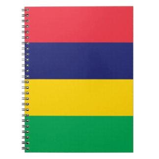 Mauritius Flag Notebooks