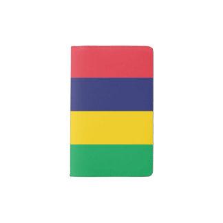 Mauritius Flag Pocket Moleskine Notebook