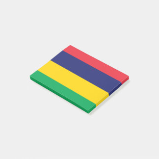 Mauritius Flag Post-it Notes