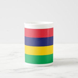 Mauritius Flag Tea Cup