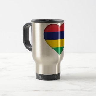 Mauritius Flag Travel Mug