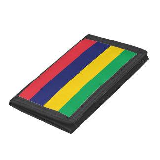 Mauritius Flag Tri-fold Wallet