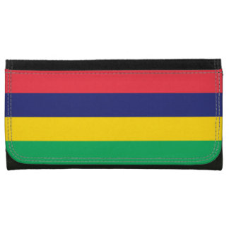 Mauritius Flag Wallets For Women
