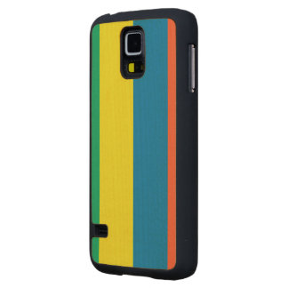 Mauritius Flag Carved® Maple Galaxy S5 Case
