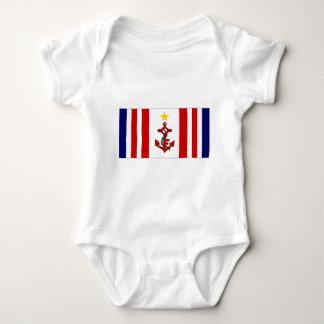 Mauritius Naval Ensign Baby Bodysuit