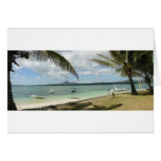 Mauritius Paradise Card
