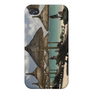 Mauritius, Poste de Flacq. Beach scene at the iPhone 4 Covers