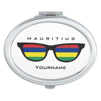 Mauritius Shades custom pocket mirror Compact Mirrors