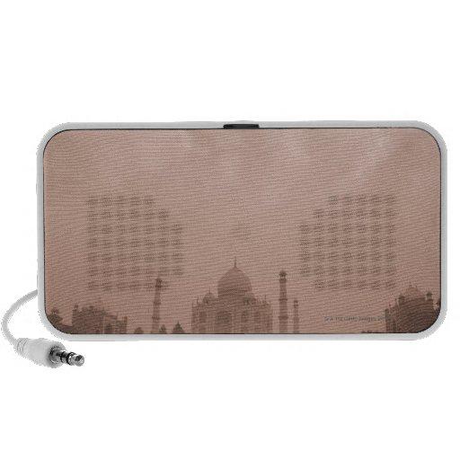 'Mausoleum at the riverside, Taj Mahal, Agra, 2 Travelling Speakers