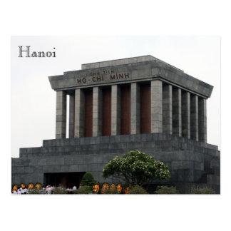 mausoleum hanoi postcard