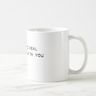 mauvaises choses tasse à café
