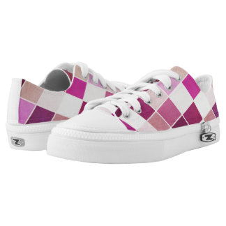 Mauve and fuchsia Low-Top sneakers