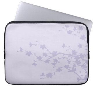 Mauve Blossoms Laptop Sleeve