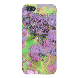 Mauve Bouquet Cover For iPhone 5/5S