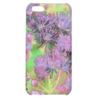 Mauve Bouquet Cover For iPhone 5C