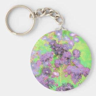 Mauve Bouquet Keychain