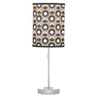 Mauve Circle Table Lamp
