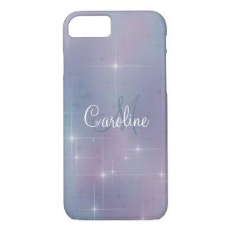 Mauve Lavender Teal Sparkle Case-Mate iPhone Case