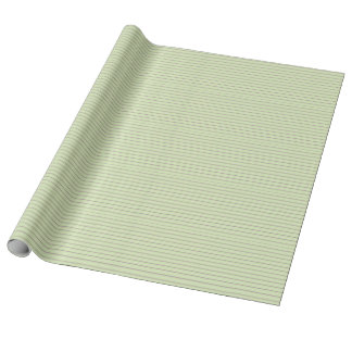 Mauve Mist Chalky Stripes on Pistachio Green Wrapping Paper