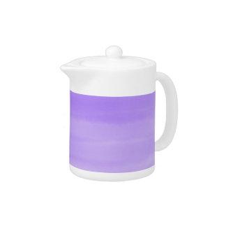 Mauve ombré teapot
