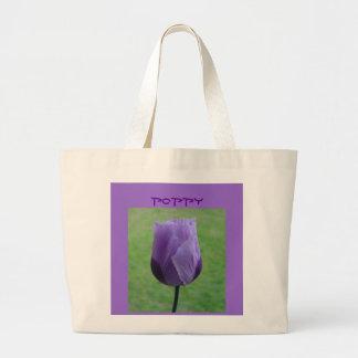Mauve Poppy Bag