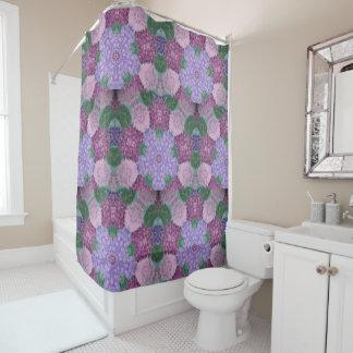 Mauve Purple And Pink Hydrangea
