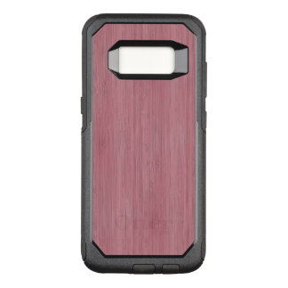 Mauve Purple Bamboo Wood Grain Look OtterBox Commuter Samsung Galaxy S8 Case