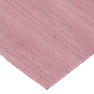 Mauve Purple Bamboo Wood Grain Look Short Table Runner
