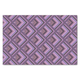 Mauve stripes scale pattern tissue paper